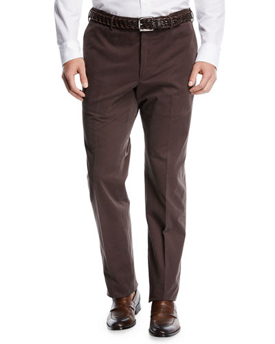 Incotex Yarn-Dyed Drill Chino Pants