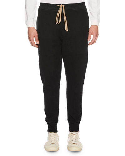 Men's Paneled Cotton Sweatpants