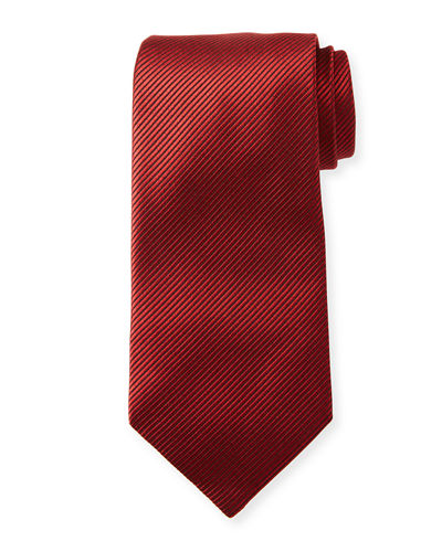 b8c000413722 Shiny Solid Silk Tie Quick Look. TOM FORD