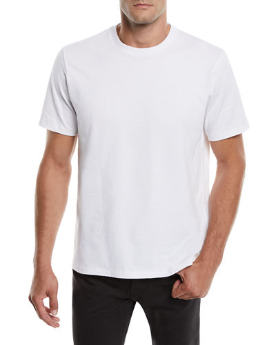 Men's Heavyweight Cotton Crewneck Classic Fit T-Shirt