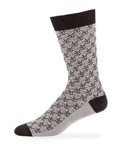 Men's Thompson Two-Tone Socks