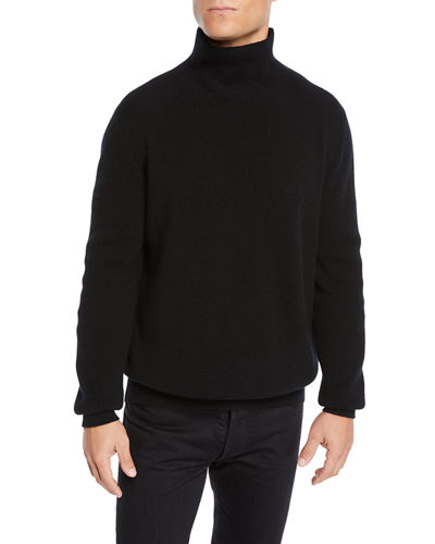 Men's Daniel Roll-Neck Cashmere Sweater