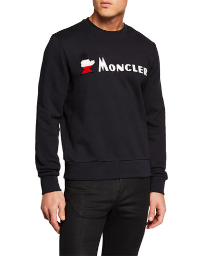 Men s Maglia Girocollo Long-Sleeve Shirt Quick Look. Moncler 35d31c0b456