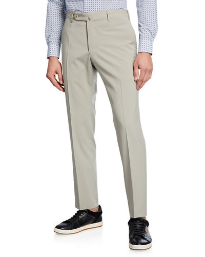 Incotex Men's Techno Wool Pants