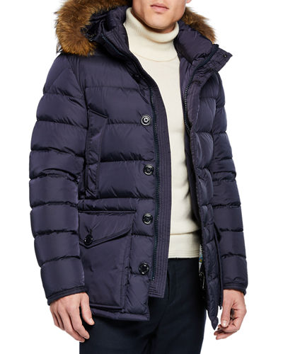 1ad13bf456d9 Moncler Stand Collar Puffer Coat