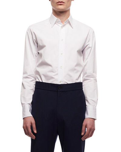 Men's Ahmet Poplin Dress Shirt