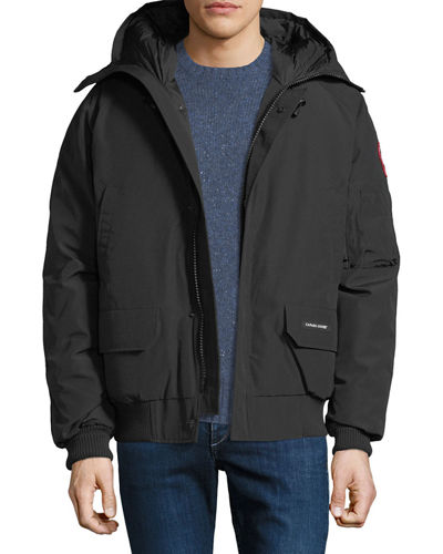 Men's Chilliwack Down Bomber Jacket w/ Fur Hood