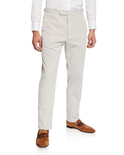 Men's Bedford Cotton-Stretch Corduroy Pants