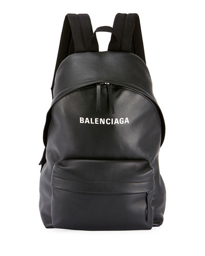 Men's Everyday Large Leather Backpack