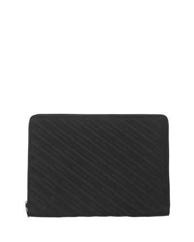 Balenciaga Men's Explorer Zip-Around Tablet Pouch