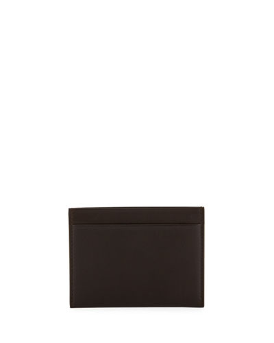 Men's Calfskin Leather Card Case