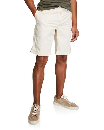 Men's Flat Front Bermuda Shorts
