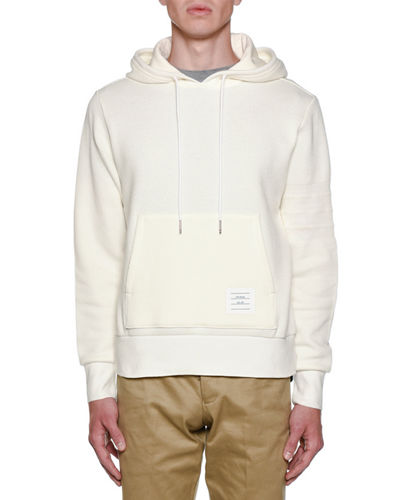 Men's Chunky Honeycomb Pique Hoodie Pullover