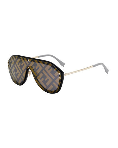 11007e0f671d3 Men s FF Shield Sunglasses Quick Look. Fendi