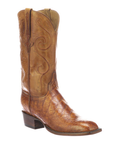 Men's Colton Gator Leather Cowboy Boots (Made to Order)