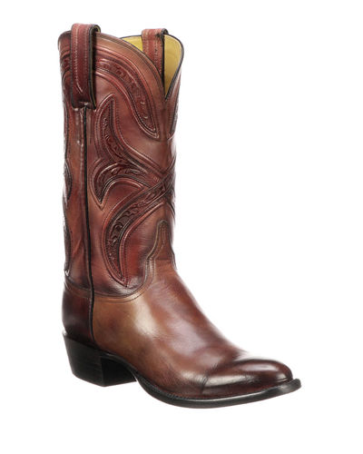 Men's Knox Leather Cowboy Boots (Made to Order)