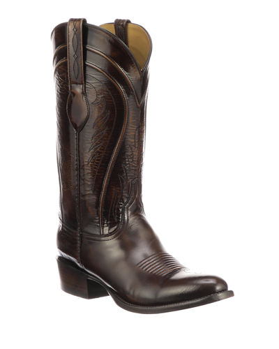 Men's Gavin Leather Cowboy Boots (Made to Order)