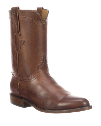 Men's Bannock Leather Cowboy Boots (Made to Order)