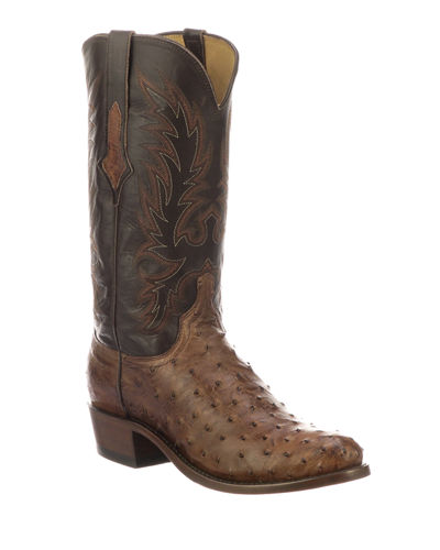 Men's Elgin Ostrich Cowboy Boots