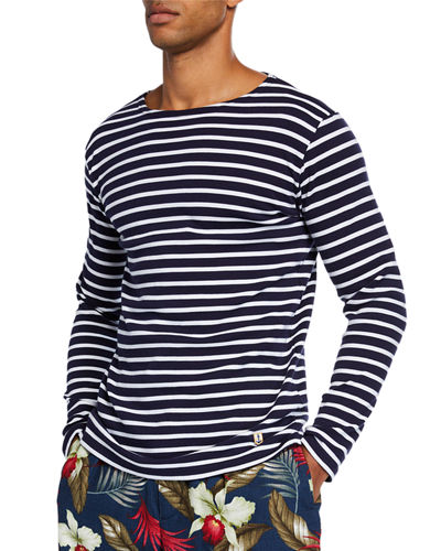 Men's Marinire Heritage Striped Long-Sleeve T-Shirt