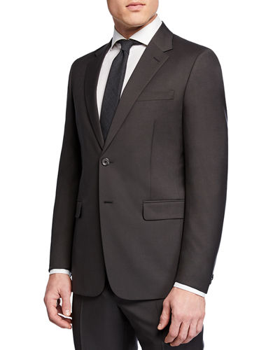 Men's Mohair Tela Two-Piece Suit