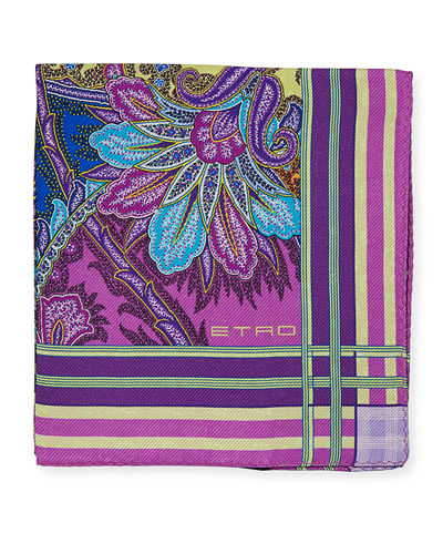 Men's Pochette Jamul Pocket Square
