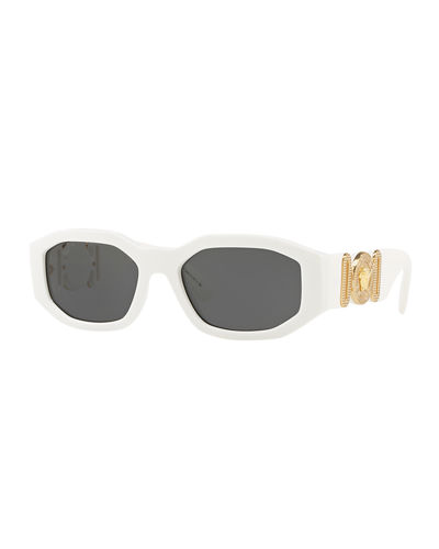 Men's Geometric Propionate Sunglasses