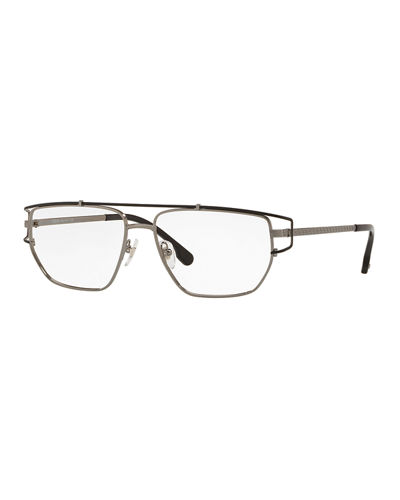 4fb0c9b2722 Versace Men s Metal Wrap-Style Optical Glasses