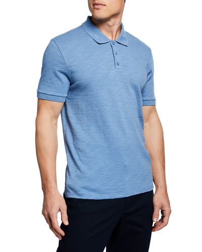 Men's Classic Short-Sleeve Polo Shirt