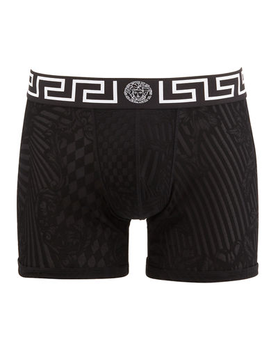 Men's Long Mesh Boxer Briefs