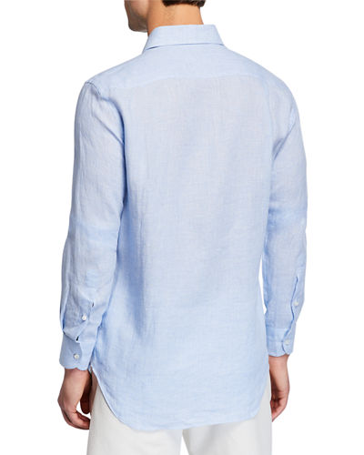 Men's New Alain Arizona Linen Sport Shirt