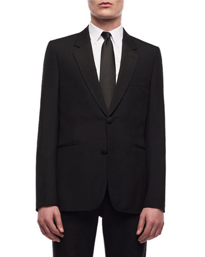 Men's Michel Single-Breasted Cashmere Jacket