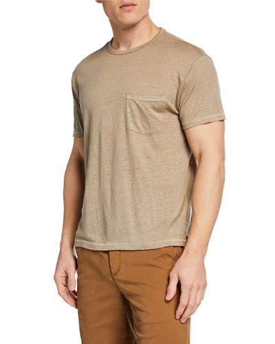 Men's Owen Linen Pocket T-Shirt