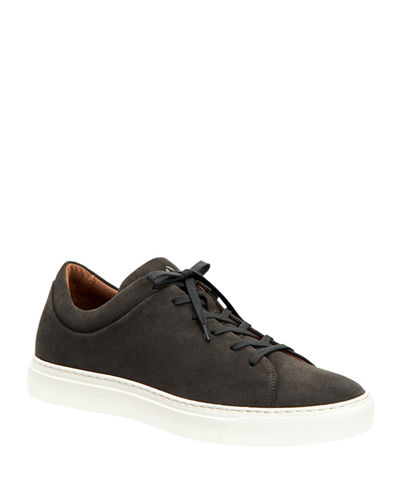 Men's Alaric Suede Low-Top Sneakers