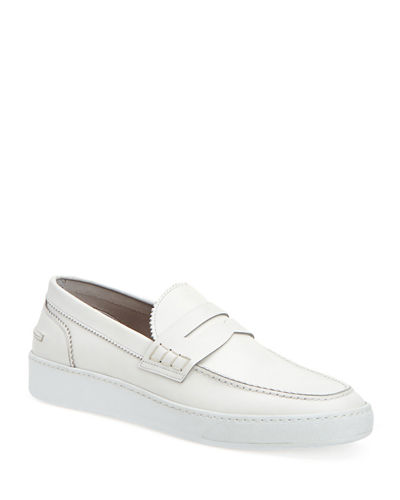 Men's Giuliano Leather Loafer Sneakers