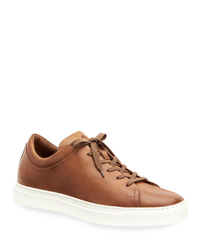 Men's Alaric Leather Low-Top Sneakers