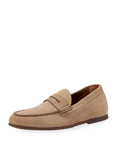 Men's Kirk Suede Penny Loafers