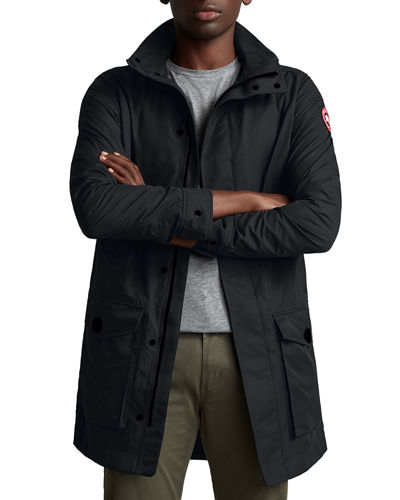Men's Crew Trench Coat
