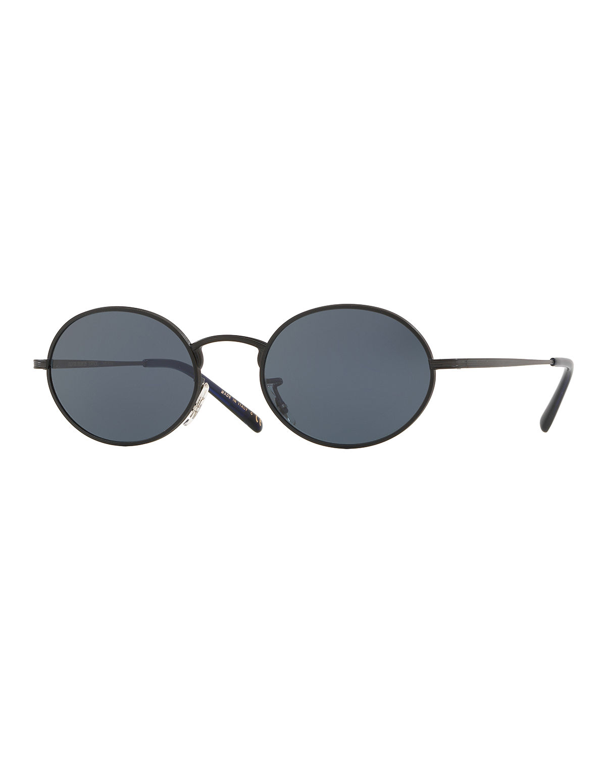 Oliver Peoples Sunglasses MEN'S EMPIRE SUITE MONOCHROMATIC OVAL SUNGLASSES