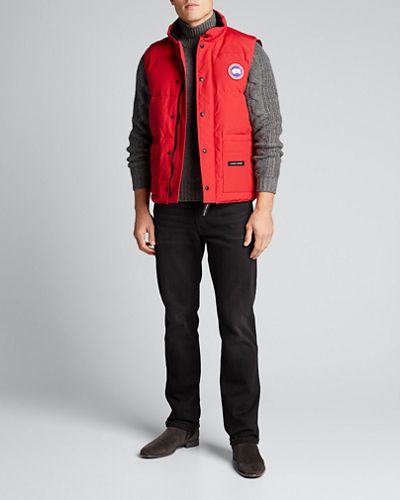 Men's Freestyle Down Crew Vest