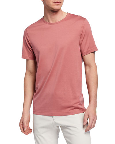 Men's Precise Luxe Cotton Short-Sleeve Tee