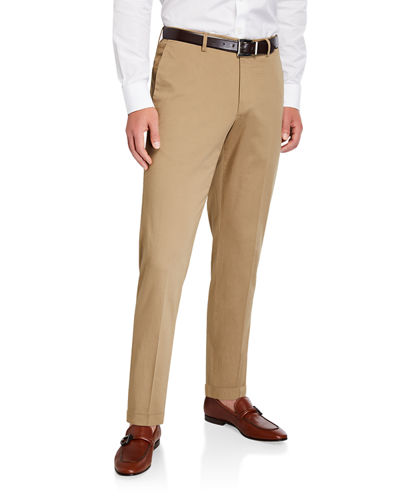 Men's Mickey Slim-Fit Silkochino Pants