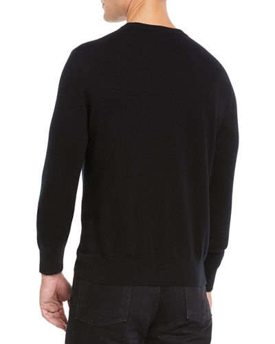 Men's Benji Crewneck Cashmere Sweater