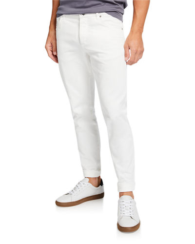 Men's Slim-Fit Over-Dye Twill Jeans