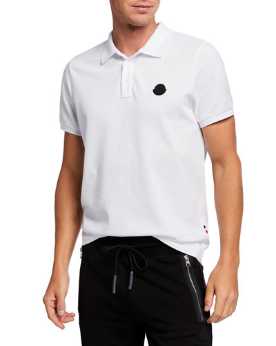 Men's Matte Patch Polo Shirt