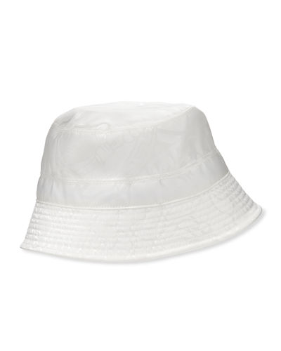 Men's Tonal Pattern Bucket Hat