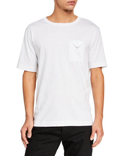 Men's Folded-Pocket Crewneck T-Shirt