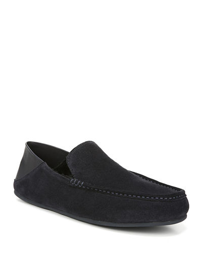 Men's Gino Suede Leather Loafers
