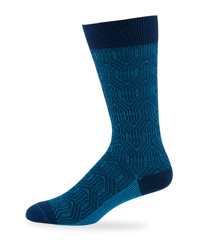 Men's Russo Cotton-Blend Socks