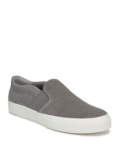 Men's Fenton Perforated Suede Slip-On Sneakers